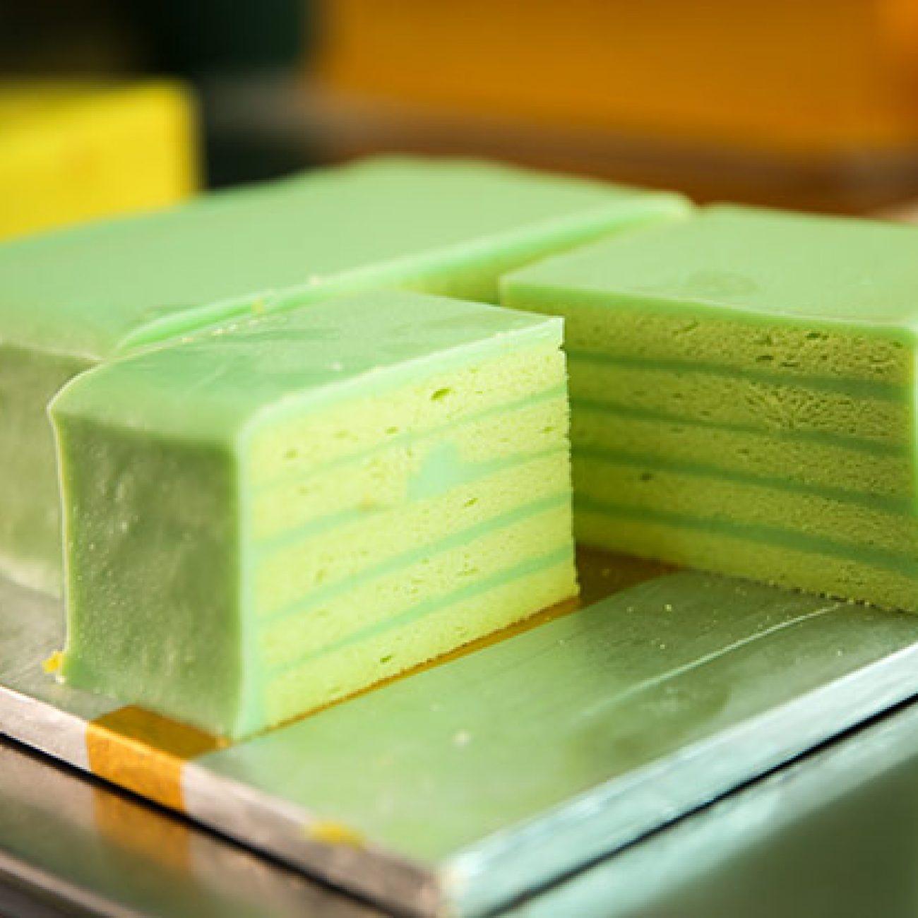Pandan Layer Cake Mkl