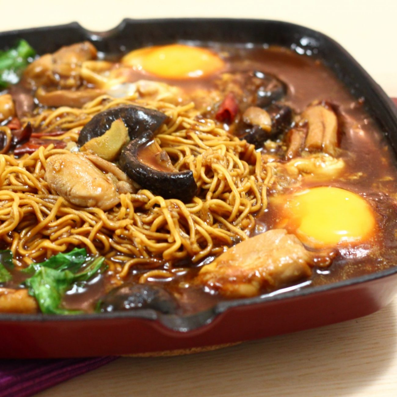 Hot Plate Noodle 铁板面