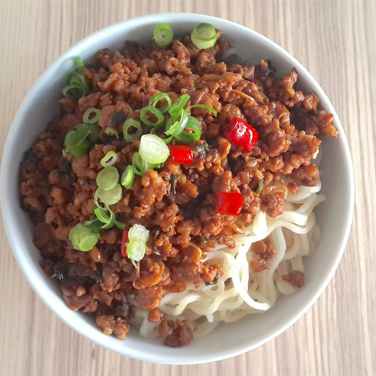 Minced Pork and Tung Choy