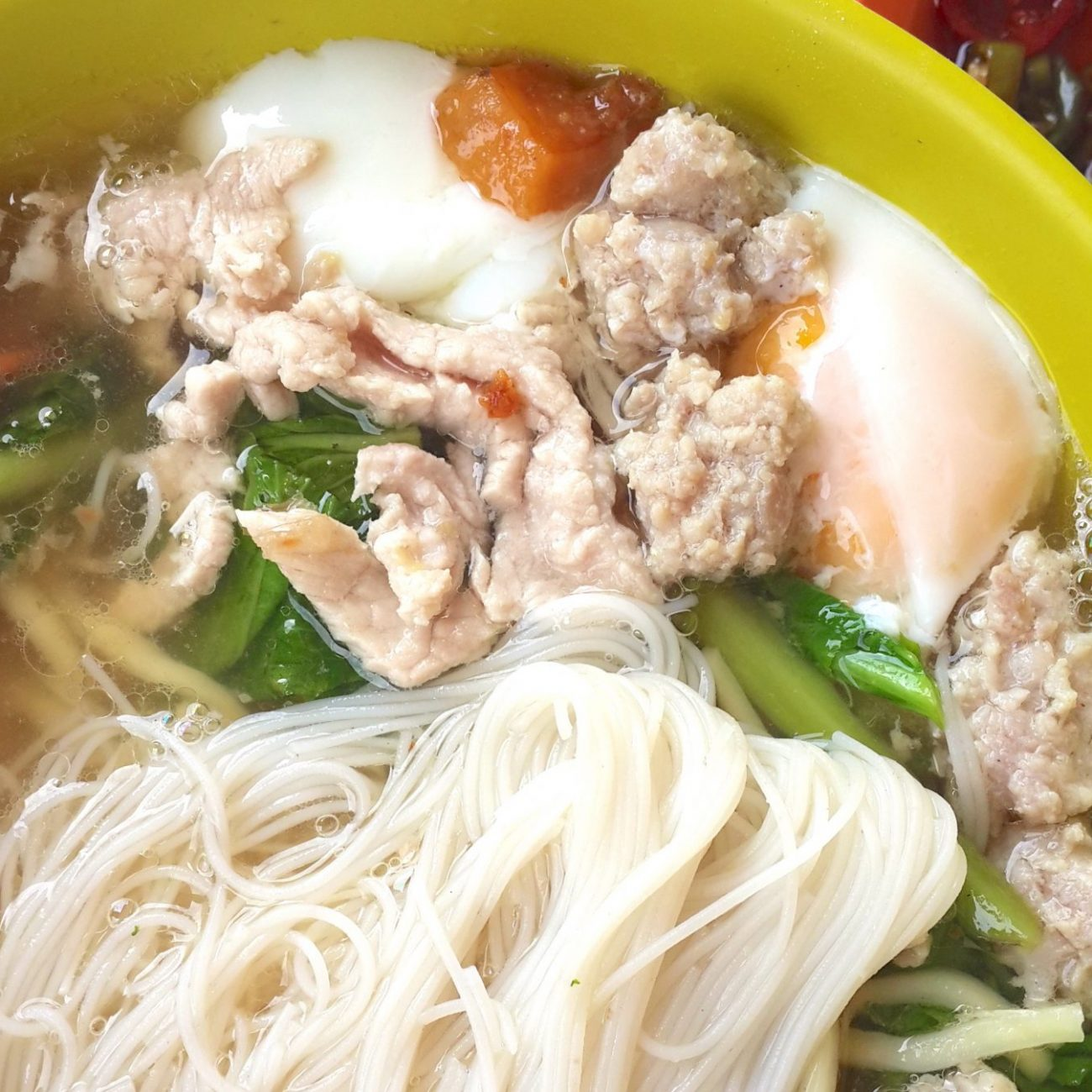 Pork Noodles (猪肉粉 Zhu Yoke Fun)
