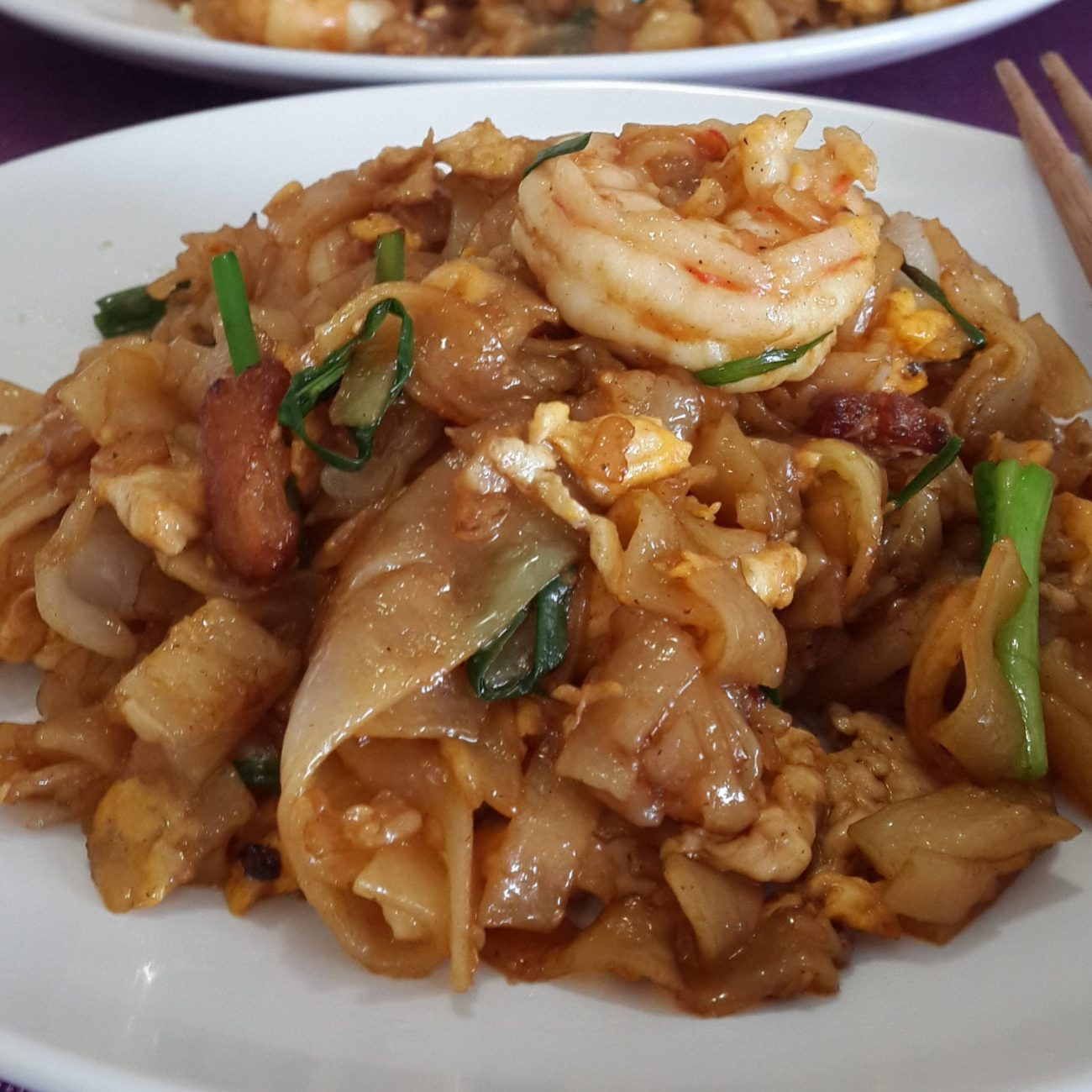 Stir-fried Rice Noodle (Char Kway Teow 炒粿條)