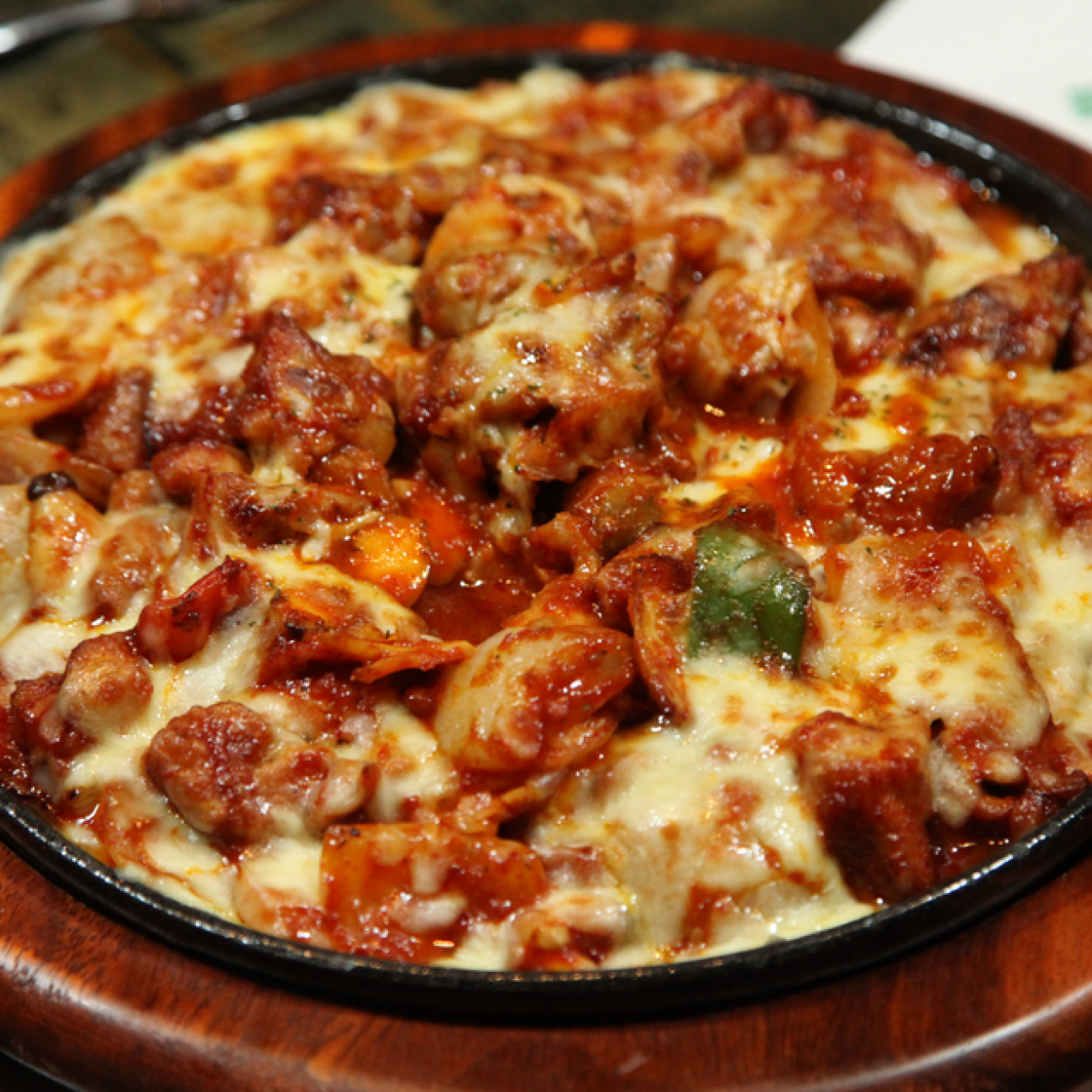 Cheesy Fire Chicken (Cheese Buldak 치즈불닭)