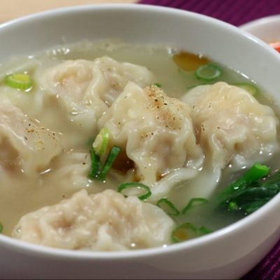 Wonton in Chicken Soup