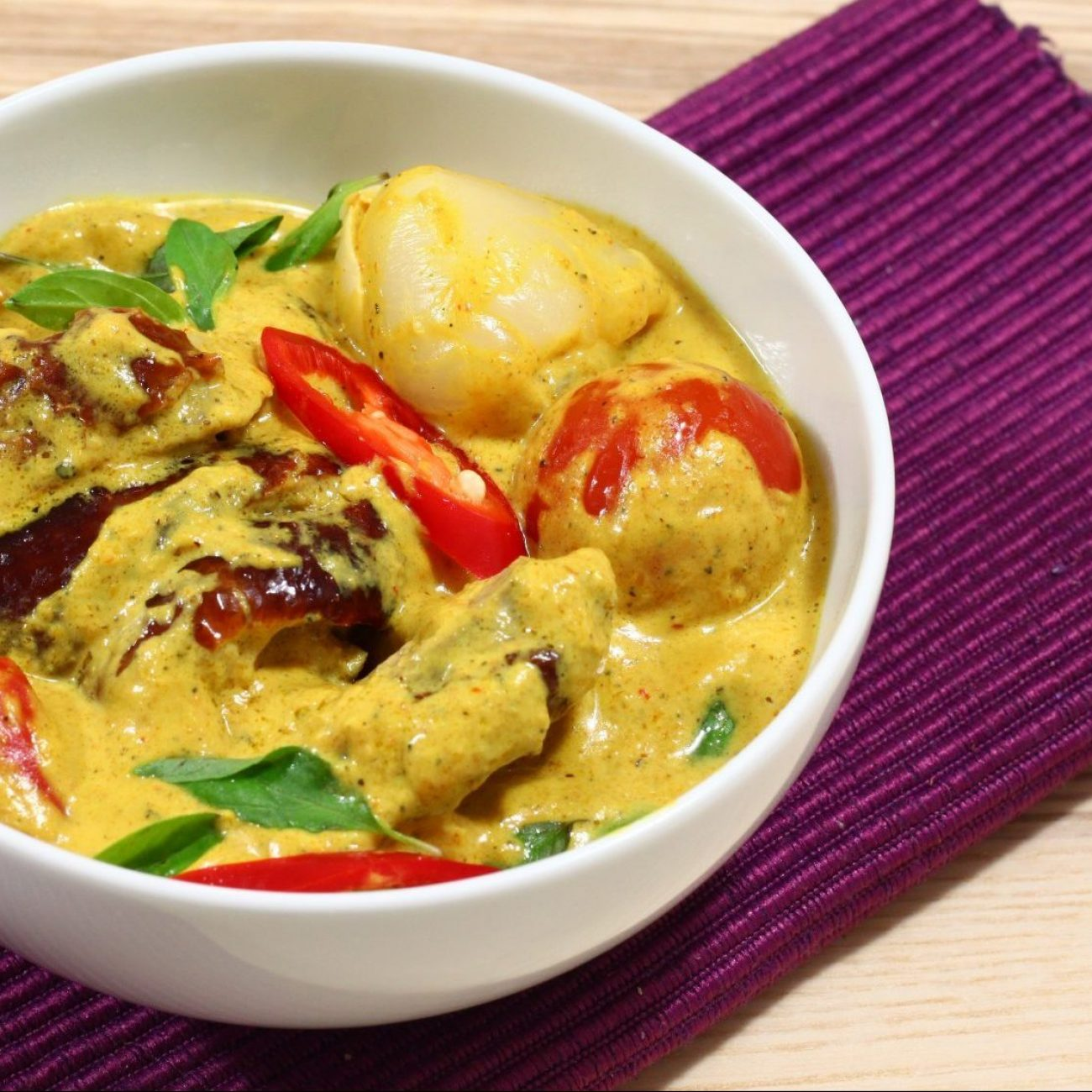 Roasted Duck Thai Red Curry