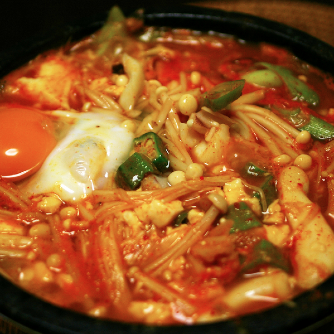Silken Tofu Soup (Soondubu Jjigae 순두부찌개)