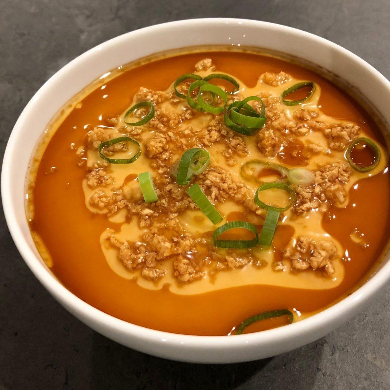Chinese Steamed Egg Custard (蒸水蛋 Jing Shui Dan)