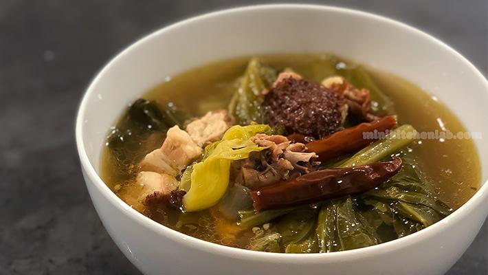 Chai Buay (Mustard Green Stew)